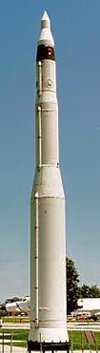 LGM-30F Minuteman II Missile