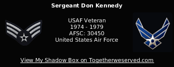 Signature Image of Kennedy, Don (TheUberOverLord), Sgt
