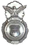 Air Force Air Police Badge (1960-1966)