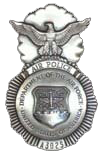 Air Force Air Police Badge (1960-1966)