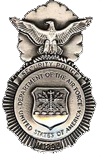 Air Force Security Police Badge (1960-1966)