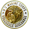 US Marine Corps Honorable Discharge