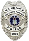 USAF Security Forces Police